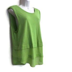 Michael Kors Top Size XL  Green Tank Long